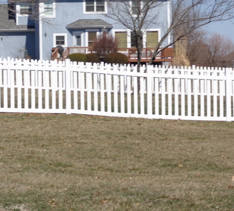 American Fence - Lincoln - Vinyl Fencing, 4' Picket - AFC-KC