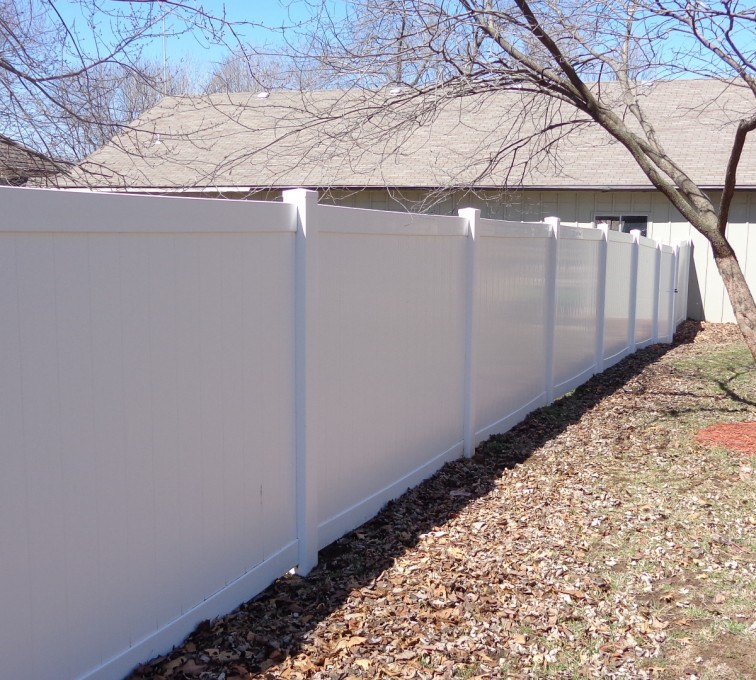 American Fence - Lincoln - Vinyl Fencing, 6' Privacy - AFC-KC