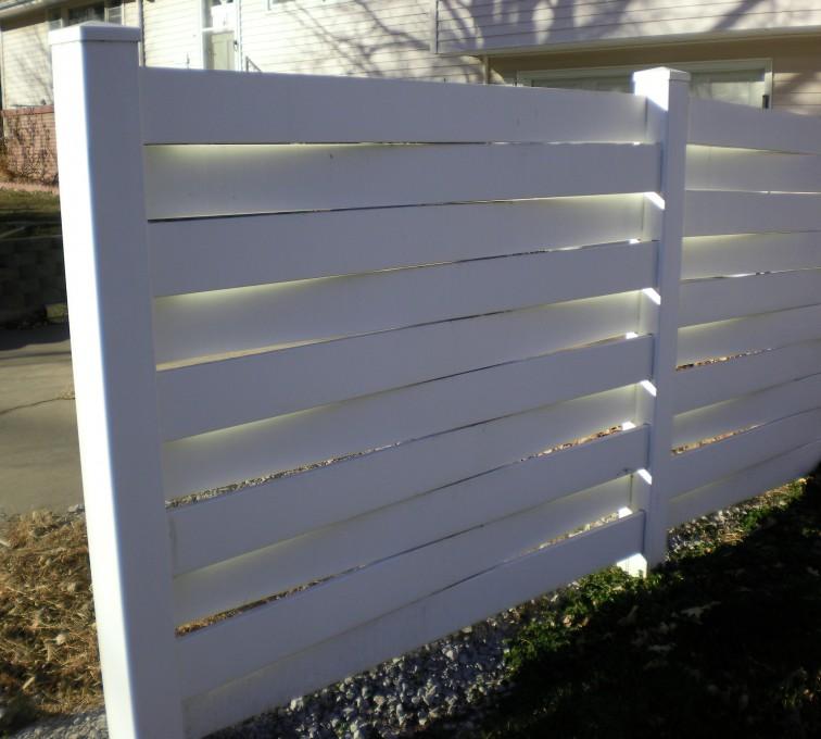 American Fence - Lincoln, Vinyl Fencing, Basket Weave Grand Island