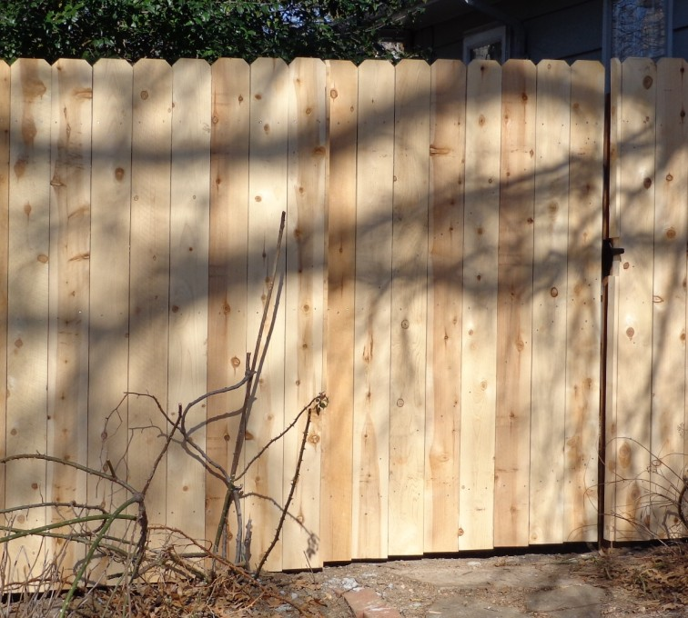 American Fence - Lincoln - Wood Fencing, 6' Privacy - AFC-KC