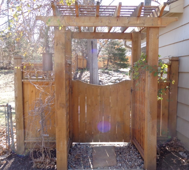 American Fence - Lincoln - Wood Fencing, Arbor - AFC-KC