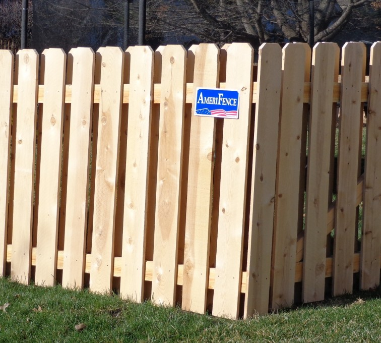 American Fence - Lincoln - Wood Fencing, Board on Board - AFC-KC