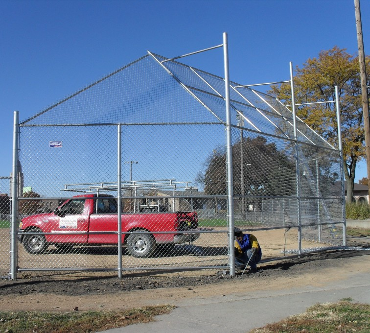 American Fence - Lincoln - Sports Fencing, Backstop