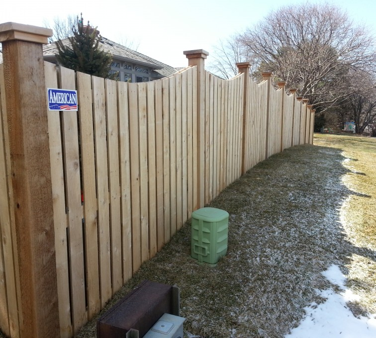 American Fence - Lincoln - Wood Fencing, Custom Wood 9922 Devonshire