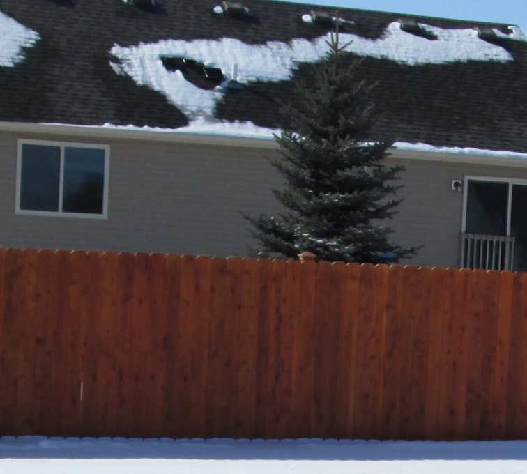 American Fence - Lincoln - Wood Fencing, Solid Privacy