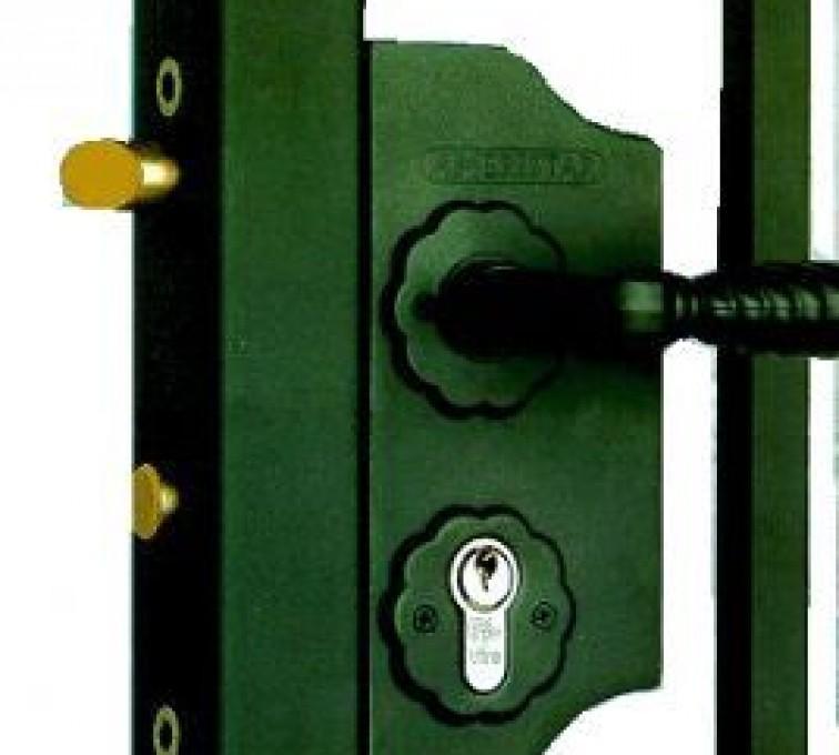 American Fence - Lincoln - Accessories, Amerilock-Ornamental Fence Gate Lock