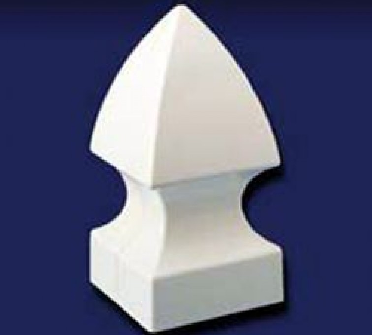 American Fence - Lincoln - Accessories, French Gothic Cap-Vinyl Fence Post