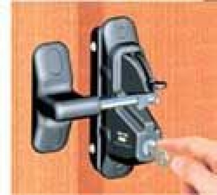 American Fence - Lincoln - Accessories, Lokk Latch Pro-Wood and Metal Fence