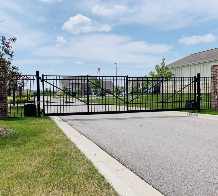 Automated Gate Gallery American Fence Company Lincoln Ne