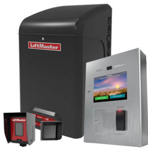 Access control equipment, such as an operator, an access portal and some photo eyes